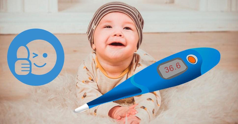 Какая температура тела должна быть у новорожденного ребенка в первые месяцы, норма