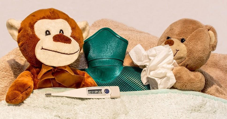 Резкое повышение температуры у ребенка без симптомов