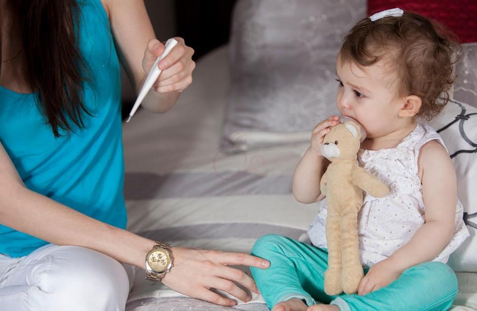 Жар с кашлем у детей при бронхите