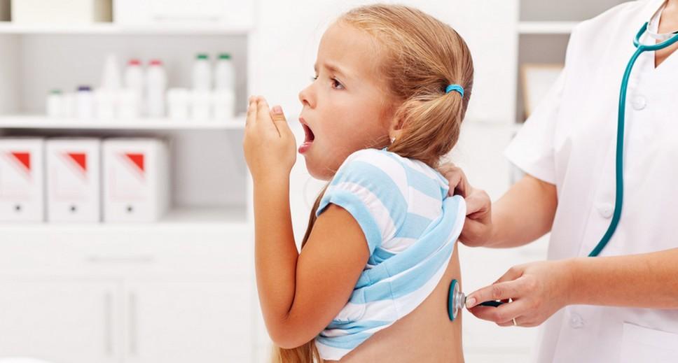 Лающий кашель с температурой у ребёнка в 3 года