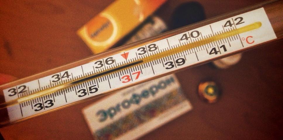 Температура у детей в 2 года — чем сбивать и какую?