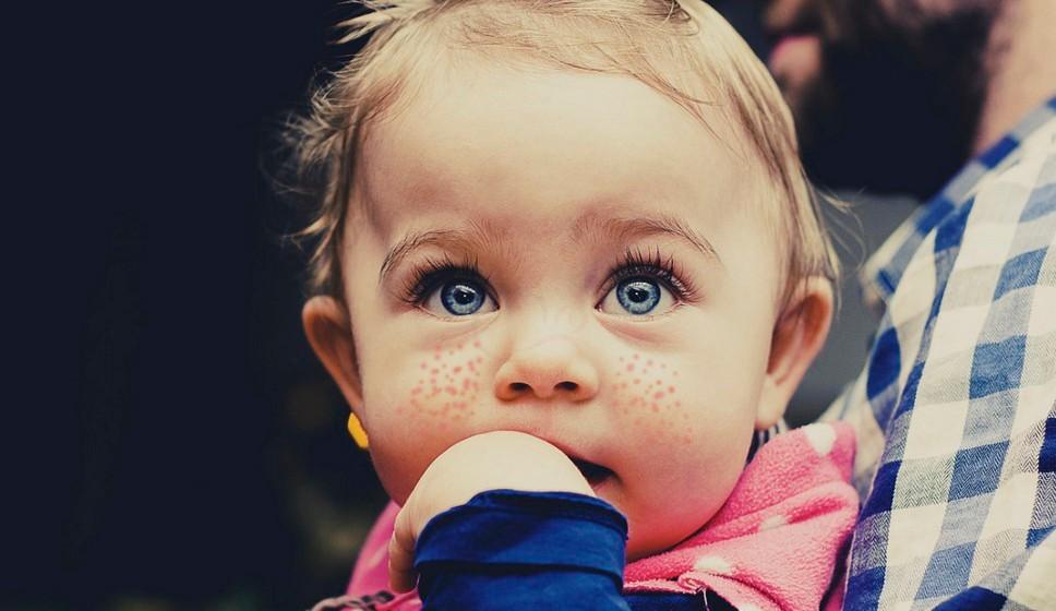 Сыпь на лице у ребёнка