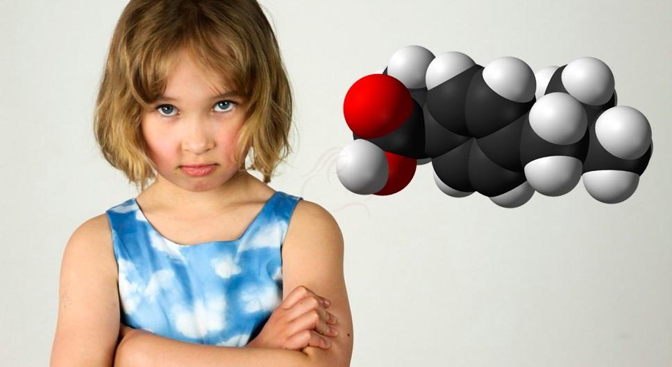Молекулярная структура Ибупрофена