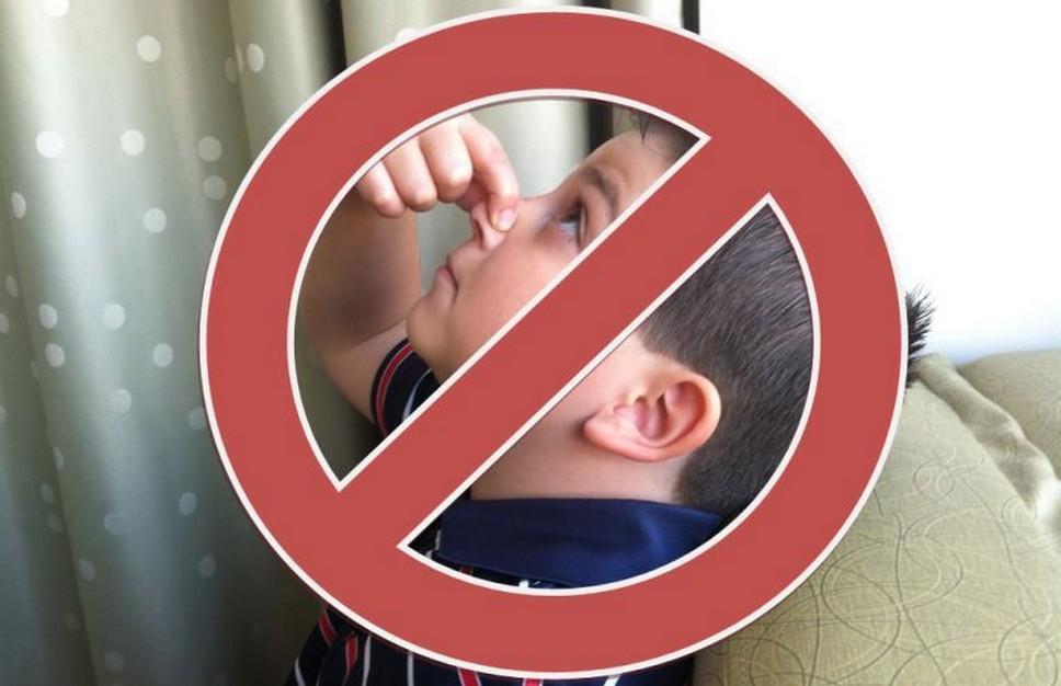 При носовом кровотечении ребёнку нельзя запрокидывать голову