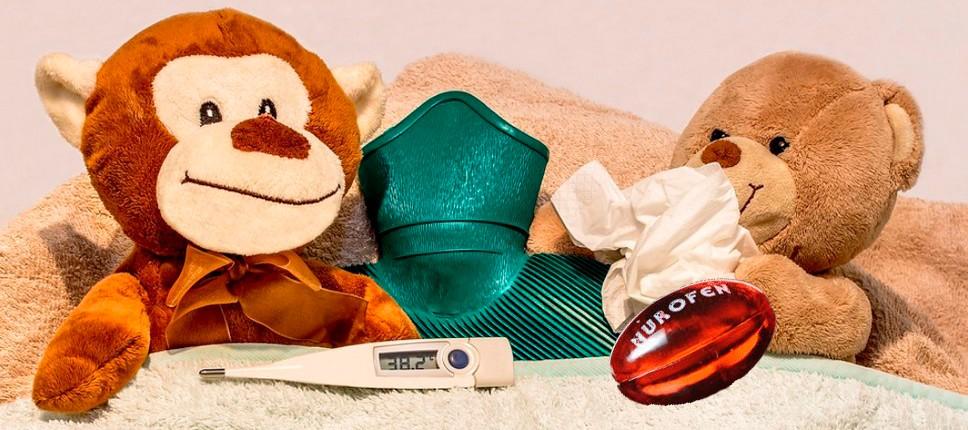 Время снижения температуры Нурофена у ребёнка
