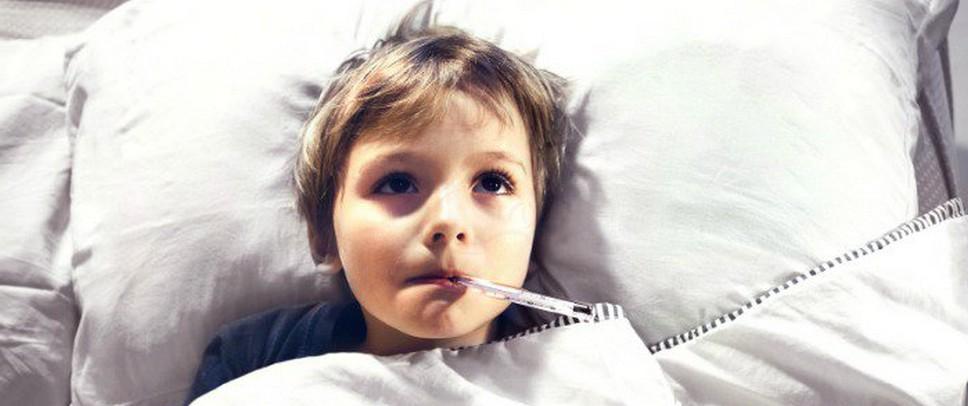 Однократная температура с приступами рвоты у ребёнка